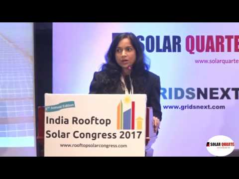 Presentation at India Rooftop Solar Congress 2017