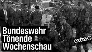 """""""extra 3""""s tönende Wochenschau"""