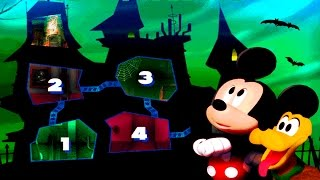 Mickey Mouse Kids Games - Disney Mickey Mouse Clubhouse Game Video - Bump in the Night
