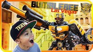 BumbleBee made from Real Car Parts, Transformers Vegas Blog - TigerBox HD
