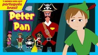 Peter Pan - Contos de Fadas - Histórias de Embalar para crianças - Português Brasil