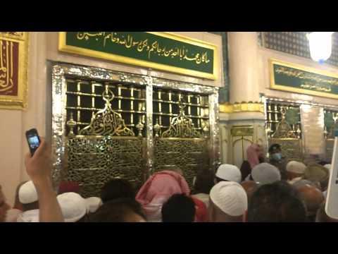 Masjid-E-Nabwi (Huzoor Ka Roza)