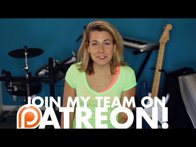 I'm building a Patreon team! YAY! JOIN IT!!