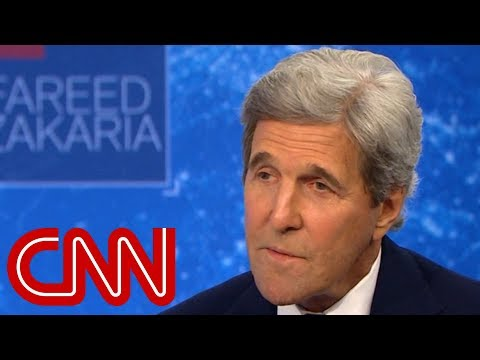 John Kerry: Trump clearly doesn't understand America