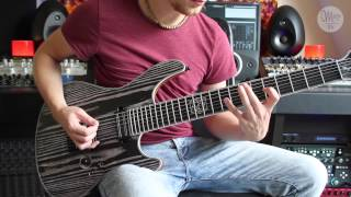 Mayones Regius 7 Gothic T Baritone — Acle Kahney - TesseracT - Singularity Play Through