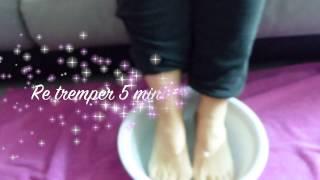 Testé pour vous: Bain de pieds Listerine Vinaigre