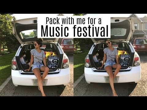 Pack With Me: COUNTRY MUSIC FESTIVAL   Chelsea Trevor