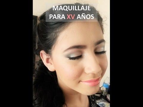 Maquillaje natural para xv a os youtube for Ornamentacion de 15 anos