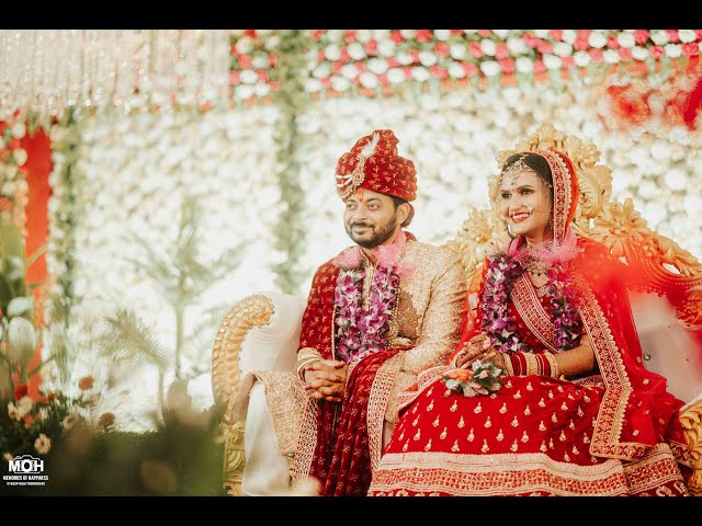 Behind The Scene of the wedding pictures(MOH - MEMORIES OF HAPPINESS STUDIO PATNA ) MANDAP BANQUET