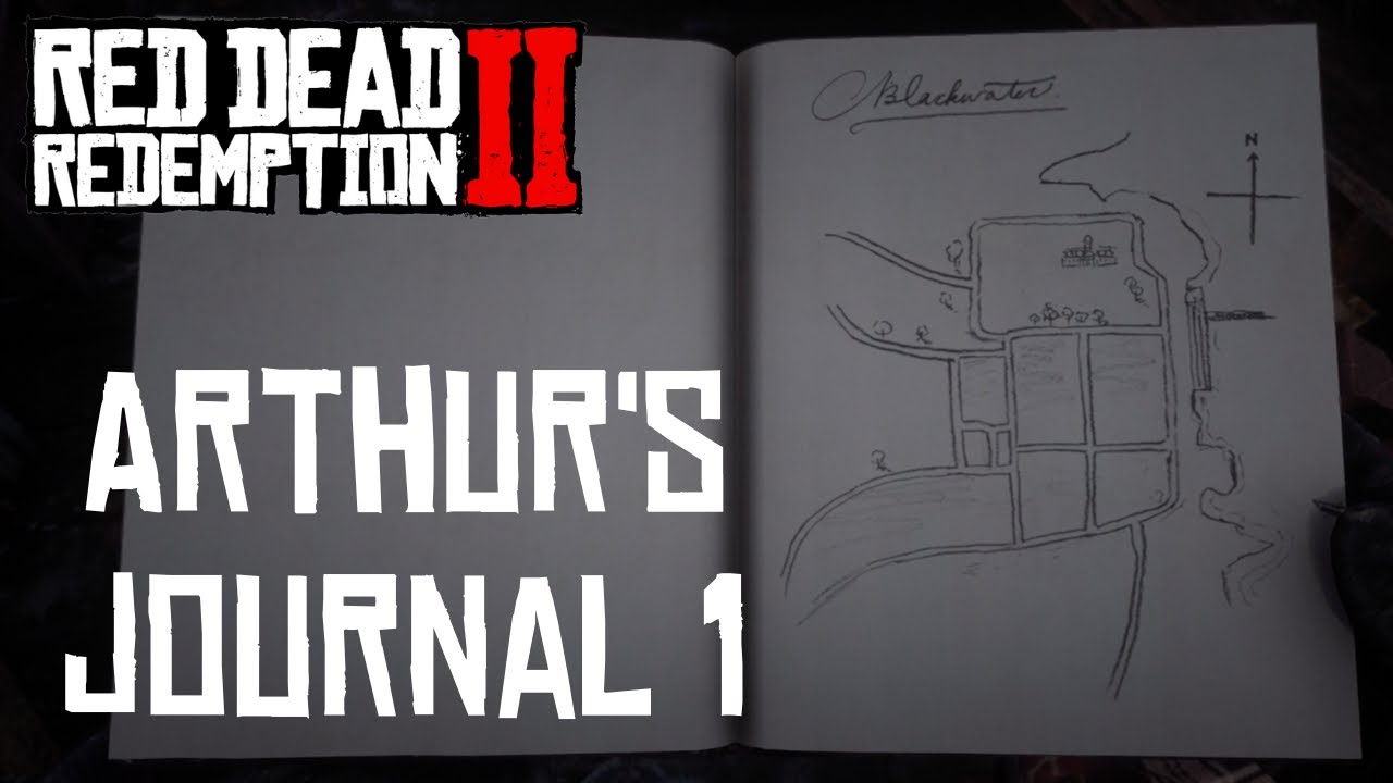 Blackwater To Colter Red Dead Redemption 2 Arthur S Journal