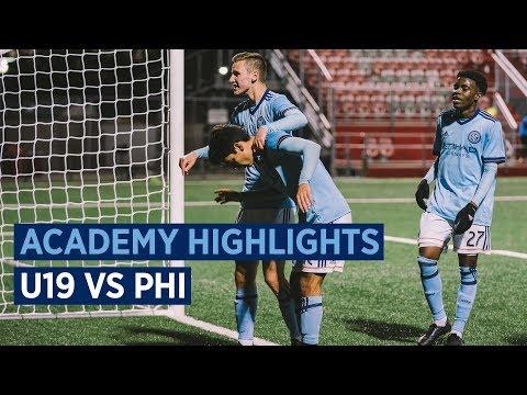 BOYS ACADEMY HIGHLIGHTS | NYCFC U-19s vs. Philadelphia Union