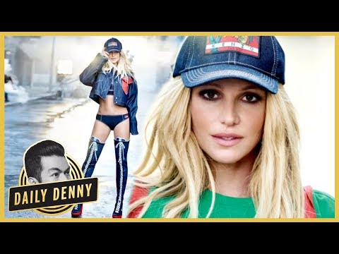 Britney Spears Looks Fit, Fab and FreshFaced in New Clothing Campaign  Daily Denny