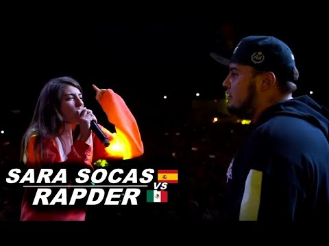 SARA SOCAS 🇪🇦 Vs RAPDER 🇲🇽   OTUMBA (CDMX) (Vídeo Oficial)