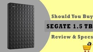 Segate 1.5Tb Hard Drive Review  Segate Expansion 1 5TB Hard Drive Review