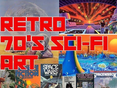 Retro 70s Sci-Fi Art!