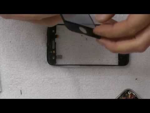 IPhone 3gs Glas Display tauschen, wechseln, reparieren in Deutsch