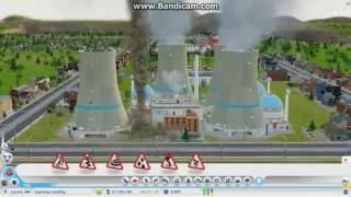 Simcity - Nuclear Power Plant Disasters