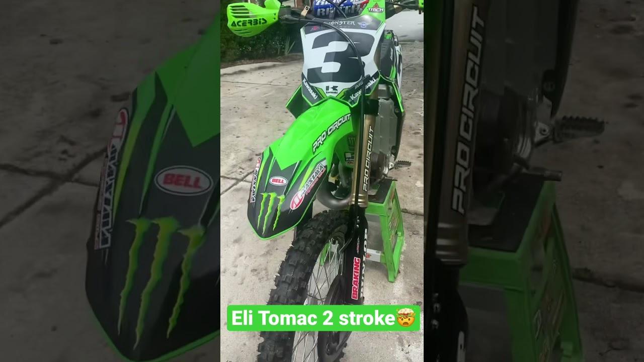 Eli Tomac 2 stroke Dirtbike
