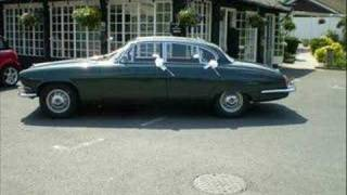 jaguar mk10 wedding