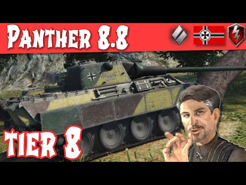 Wot Panther 8.8 4.1k damage bottom tier from YouTube · Duration:  8 minutes 45 seconds