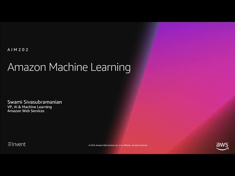 AWS re:Invent 2018 List of presentation materials and videos