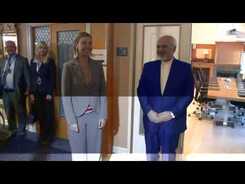 Mogherini attends Oslo Forum - meeting with Iranian Foreign Minister Mohammad Javad ZARIF