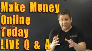 How To Profit Online Fast With Affiliate Marketing Q and A - Make Money Online