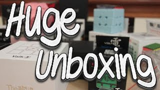 Huge $500+ Unboxing from Qiyi MoFangGe! (Wuxia M, Pentacle Cube, Clover Cube and more!)