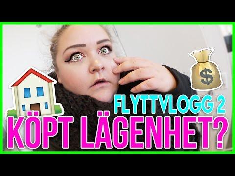 KÖPTE JAG LÄGENHETEN? + IKEA   FLYTTVLOGG #2