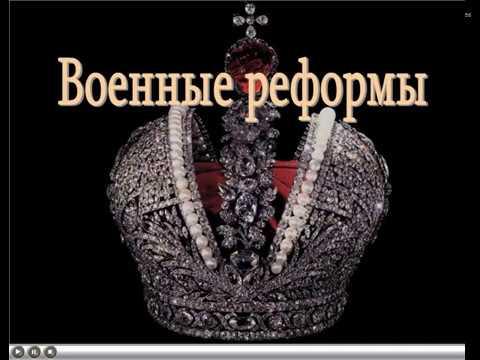 Военные реформы  Александра II