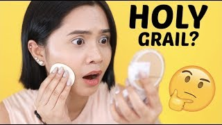 HOLY GRAIL DIN BA? Maybelline Superstay 24HR Powder Foundation | Anna Cay ♥