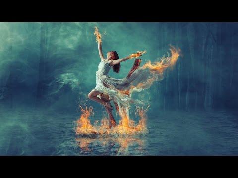 Burning dance fire effect manipulation | photoshop tutorial