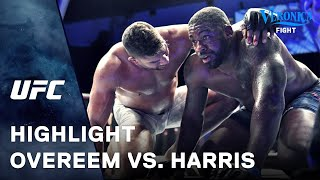 UFC: Overeem vs. Harris Highlight