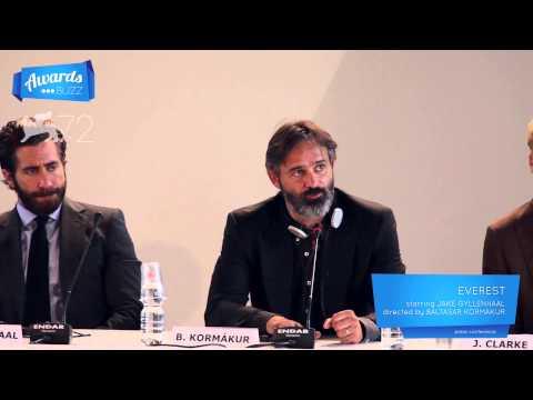 Baltasar Kormákur Everest Press Conference 2015 Venice International Film Festival