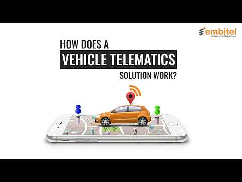 How Does a Vehicle Telematics Solution Work?