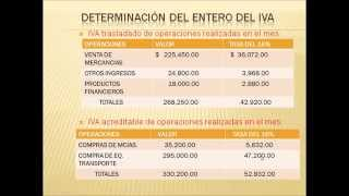 Conceptos básicos del IVA