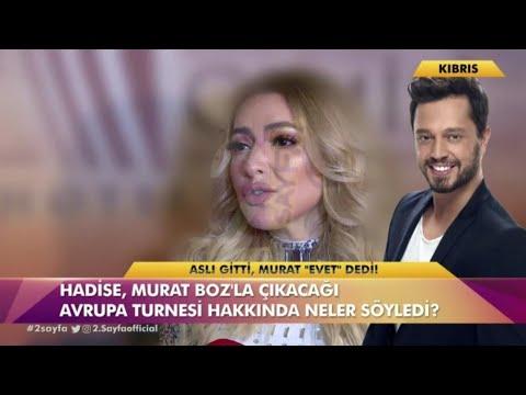 Hadise Murat Boz'la aşk mı yaşıyor?