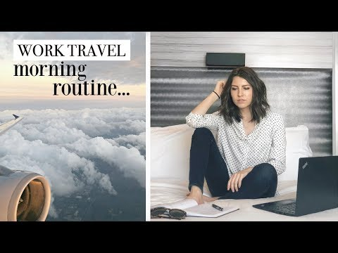 Travel Morning Routine || Day in My Life as a Private Equity Analyst
