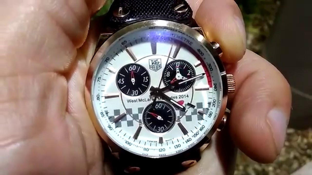 Tag Heuer Mclaren 2014 Youtube