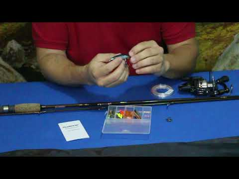 PLUSINNO 2-Piece Spinning Rod and Reel Combo