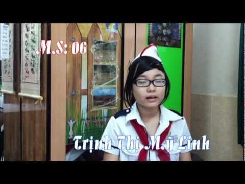 Clip Ứng Cử Ban Chỉ Huy Liên đội Võ Thành Trang năm học 2011 - 2012