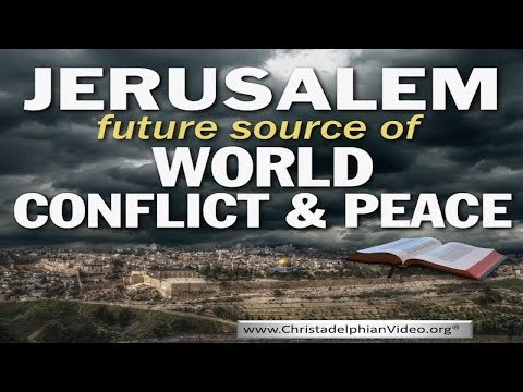 Jerusalem Today! May 14th 2018: Centre of World Conflict and Peace
