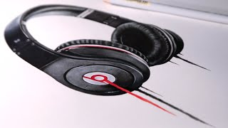 Beats By Dre drawing