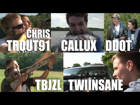 Fieldsports Britain - YouTube stars go shooting and fishing  (episode 185)