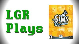 LGR Plays - The Sims Vacation