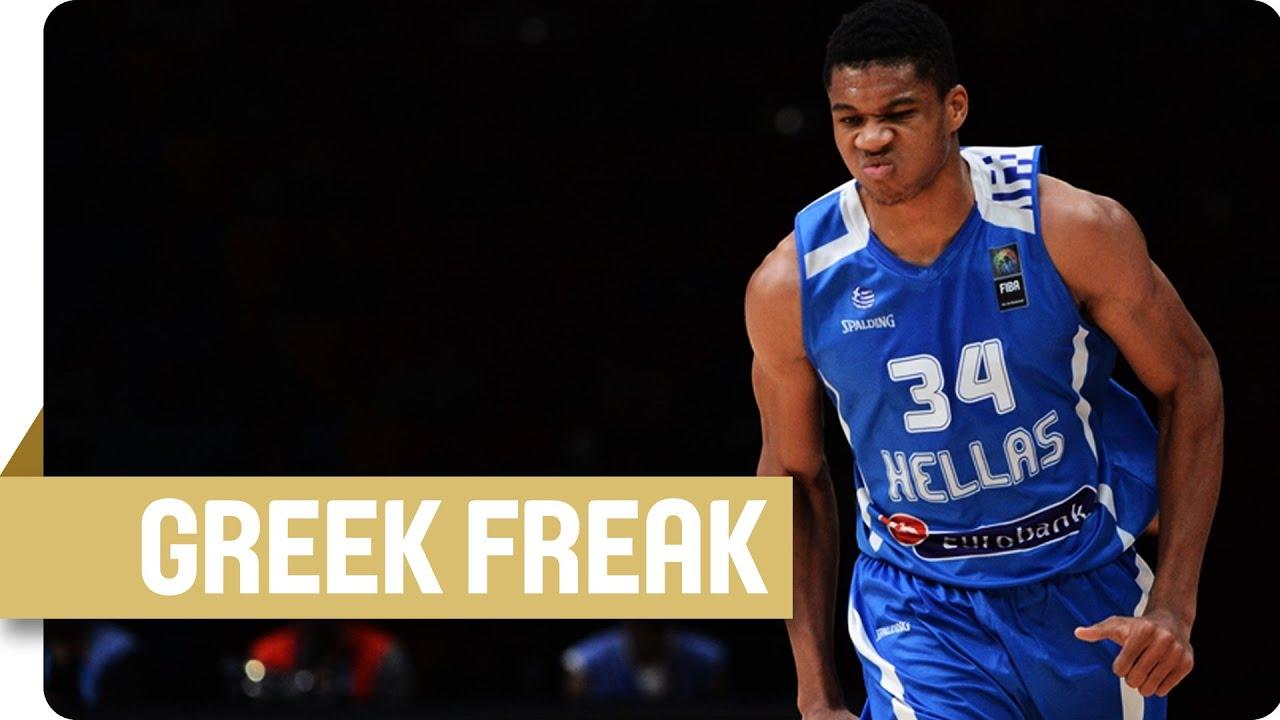 The Greek Freak in slow motion