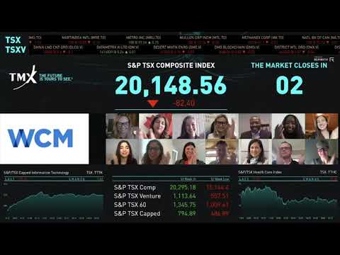 WCM's Champions of Change Virtually Close The Market