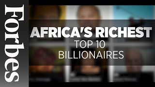 Gambar cover Africa's Richest: Top 10 Billionaires (Updated) | Forbes