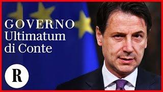 """Governo, ultimatum di Conte: """"Non vivacchierò a Palazzo Chigi, piuttosto rimetto il mandato"""""""