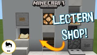 Minecraft PE MUMBO'S LECTERN STORE (PE/Xbox/Windows10/Switch)